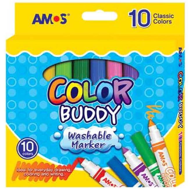 Amos Buddy Keçeli Kalem 10lu Cm10p-m %30 İndirimli Fiyatlarla