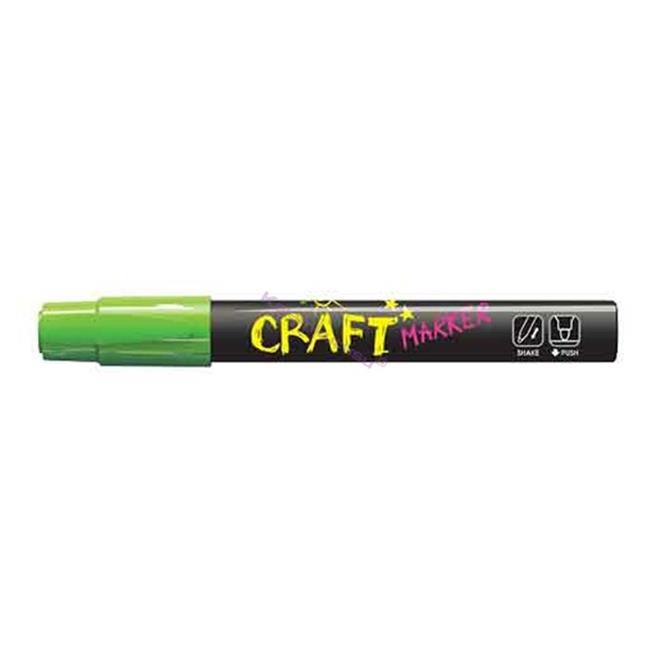 Amos Cam Boyama Kalemi 12'li Neon Yeşil Mc12d-gr %30 İndirimli Fiyatlarla