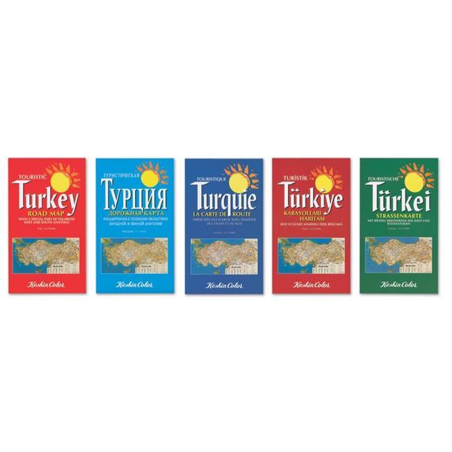 Keskin Color KESKİN HARİTA TÜRKİYE KARAYOL RUSÇA 715005-99