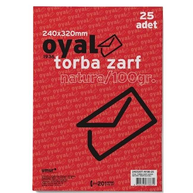 OYAL ZARF TORBA 24x32 100GR FORMULA SLK 25 Lİ