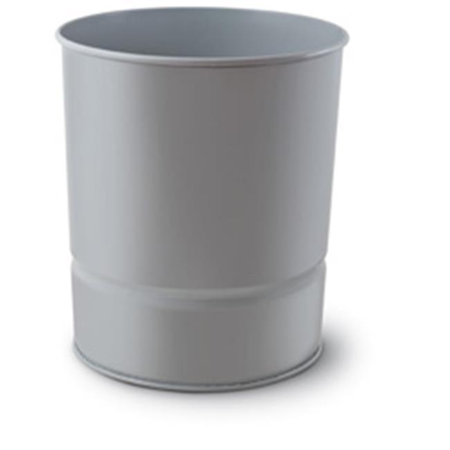 Mas Çöp Kovası -Metal- Gri