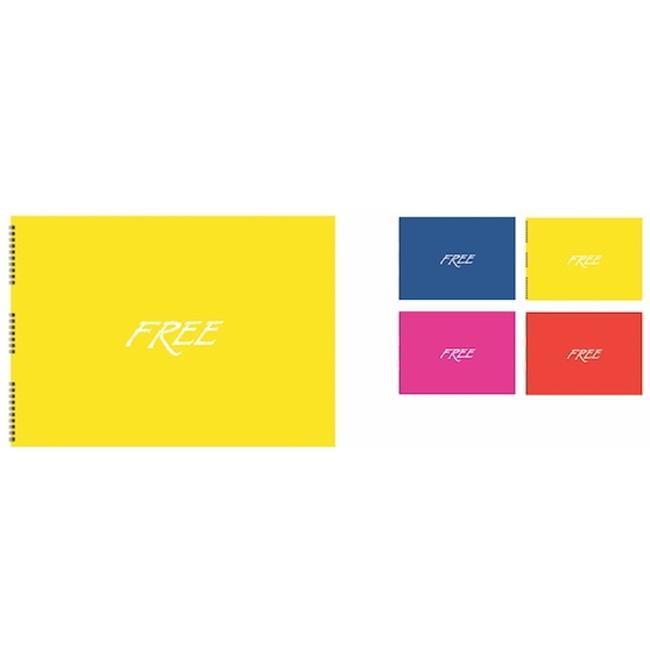 Keskin Color KESKİN RESİM DEFTERİ 17X25 FREE PP K.30 YP.305030