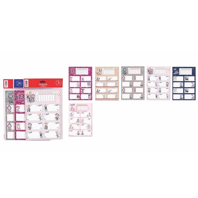 Keskin Color KESKİN ETİKET DERS PROG. 20 Lİ MY STYLE 220122-99