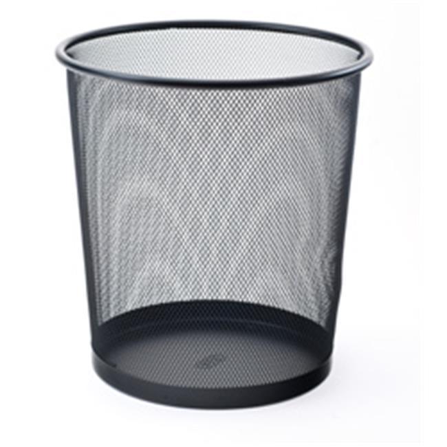 Mas Tam Delikli Çöp Kovası (Siyah)