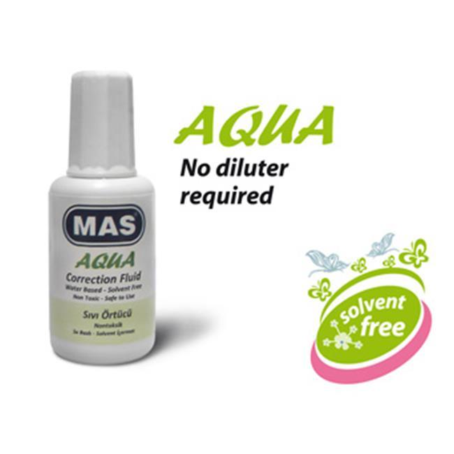 Mas Sıvı Örtücü - Su Bazlı-20 ml