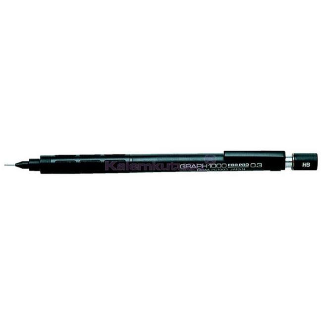 Pentel GRAPH1000 VERSATİL KALEM 0.3mm  %30 İndirimli Fiyatlarla