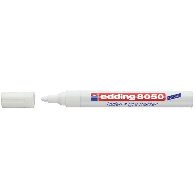 Edding Lastik Kalemi E-8050 Beyaz