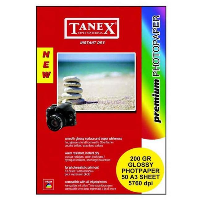 Tanex Fotoğraf Kağidi A3 200 Gr 50 Li Hc50