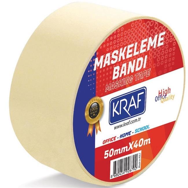 KRAF MASKELEME BANDI 50MMX40M 4050G