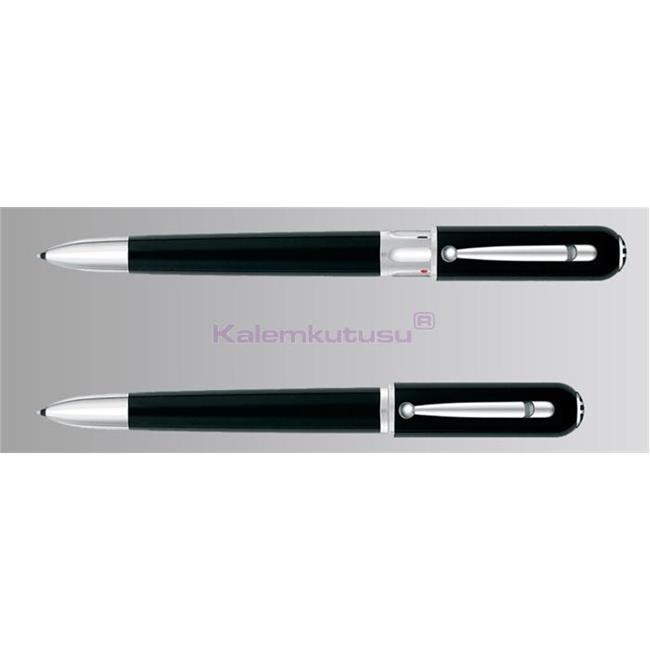 Dunhıll Sidecar Revolette Doğal Reçine/Paladyum 3 Fonksiyonlu Kalem