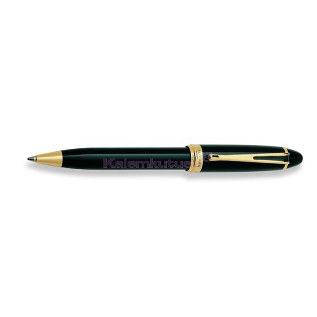 AURORA IPSILON De Luxe Doğal Reçine/Altın Tükenmez Kalem - Siyah  %30 İndirimli Fiyatlarla