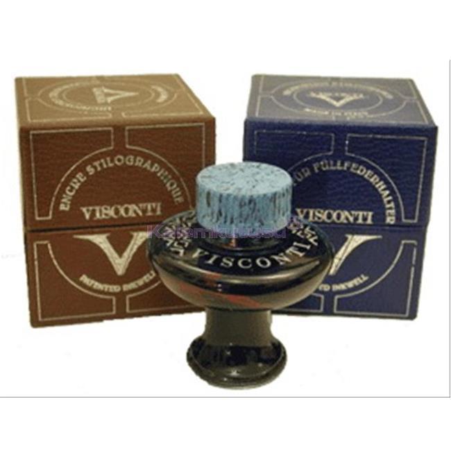 VISCONTI Koyu Renklerde Özel Dolma kalem Mürekkep 60 ml. - 5 Farklı Renk Seçeneği