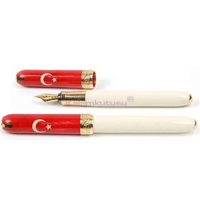 VISCONTI for TURKEY 1923 Limited Edition Dolma kalem + Roller kalem Özel Hediye Takım<br><img src='resim/mypenli.gif' border='0'/>