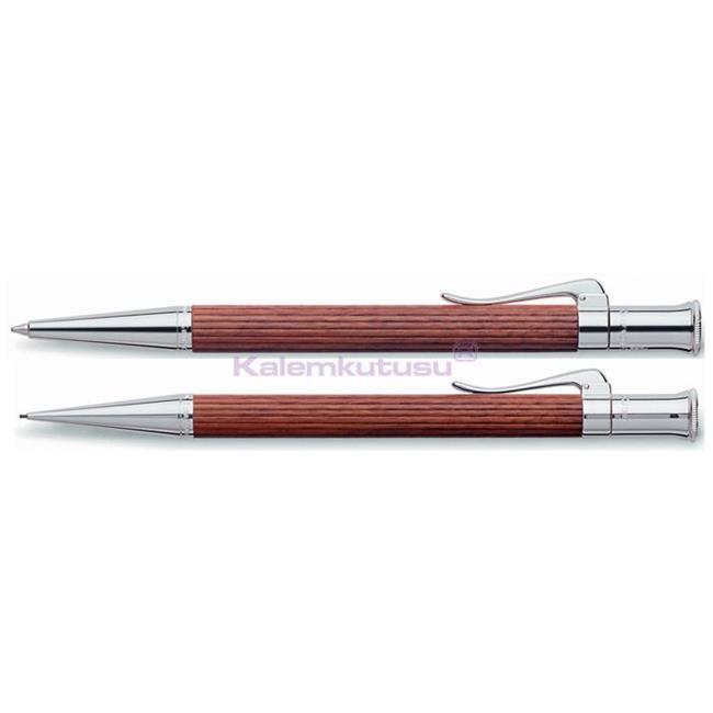 Graf von Faber-Castell Classic Bakkam Ağacı/Platin Tükenmezkalem + Versatilkalem Set %30 İndirimli Fiyatlarla