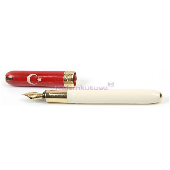 VISCONTI for TURKEY Dolma kalem Türkiye için özel üretilen model özel hediye kutusunda kalemkutusu com %30 İndirimli Fiyatlarla
