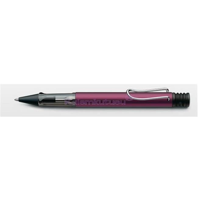 LAMY AL-star Safari Black Purple(Koyu Mor) / Alu Tükenmez kalem<br><img src='resim/isyaz.gif' border='0'/>