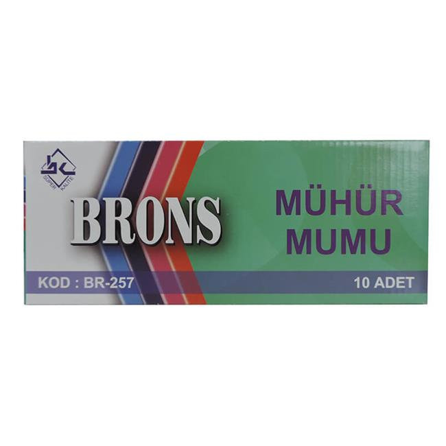 BRONS MÜHÜR MUMU BR-257