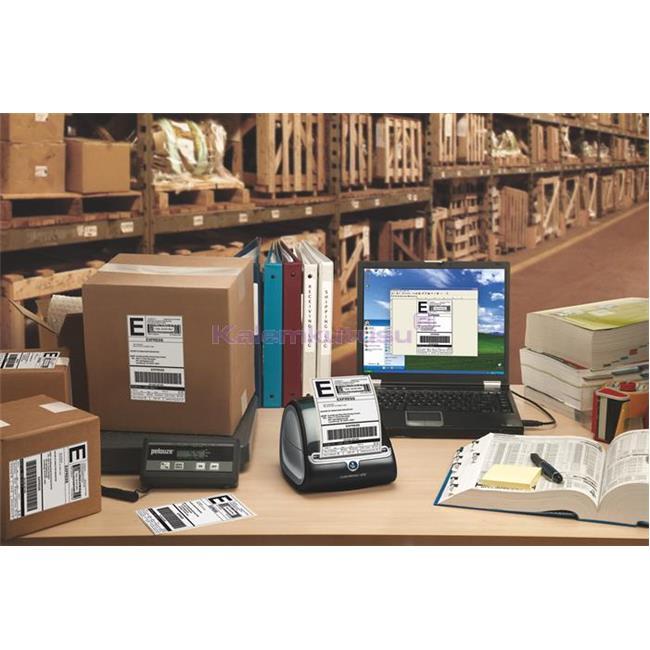 DYMO LabelWriter 4 XL PC Bağlantılı Geniş Formatlı Etiket Yazıcı %30 İndirimli Fiyatlarla