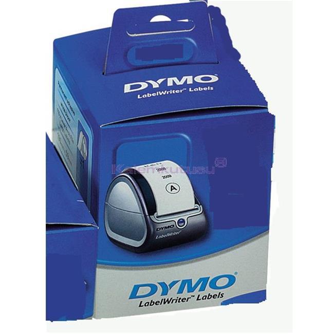 DYMO LabelWriter 4XL İçin Ekstra Geniş Sevkiyat Etiketi 104x159mm - 1x6 Rulo Beyaz Kağıt