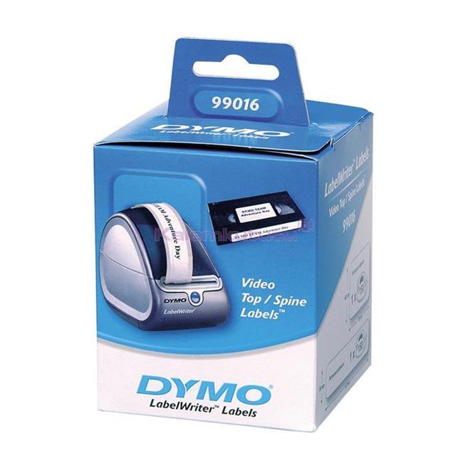 DYMO LabelWriter Serisi Video Üst/Yan Etiketi (Üst:78x46mm-Yan:147x19mm) - 1x6 Rulo Beyaz Kağıt