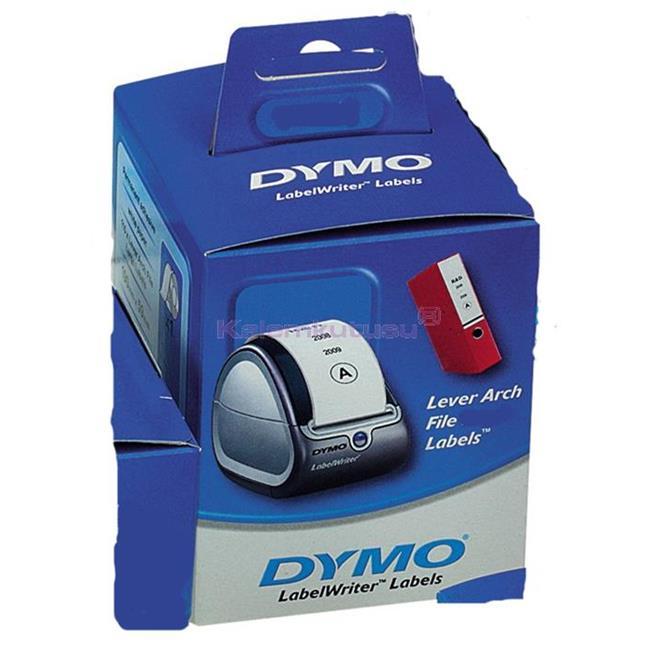 DYMO LabelWriter Serisi Dar Klasör Sırt Etiketi 190x38mm 110x6rulo Beyaz Kağıt %30 İndirimli Fiyatlarla