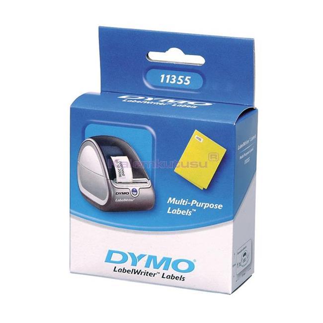 DYMO LabelWriter Serisi Çok Amaçlı Etiket 51x19mm 500 Adet rulo Beyaz Kağıt %30 İndirimli Fiyatlarla