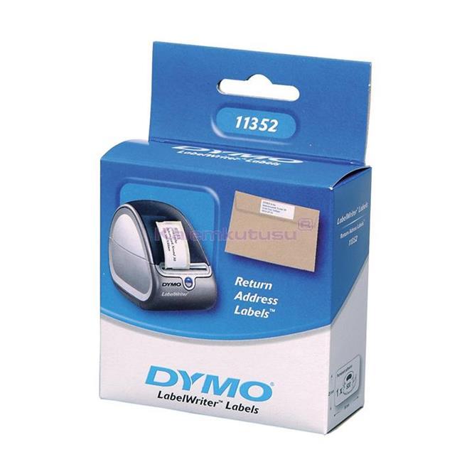 DYMO LabelWriter Serisi Uluslararası Adres Etiket 25x54mm - 1x6 Rulo Beyaz Kağıt %30 İndirimli Fiyatlarla