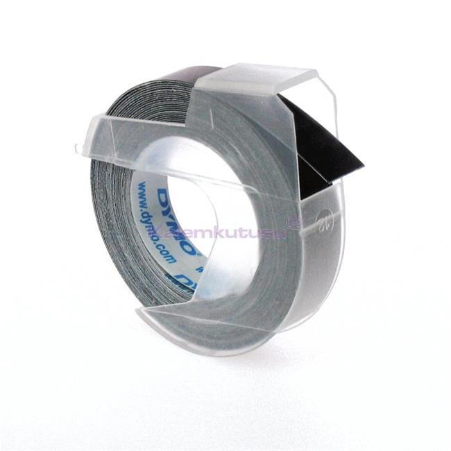 DYMO 3D Mekanik Makine için Plastik Kabartma 9mmx3mt. Şerit 1x10adet - 3 Farklı Renk Seçeneği %30 İndirimli Fiyatlarla