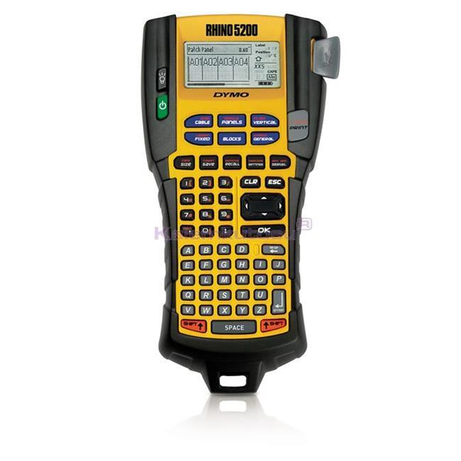DYMO Rhino 5200 Endüstriyel Elde Taşınabilir Etiketleme Makinesi S0841480 %30 İndirimli Fiyatlarla