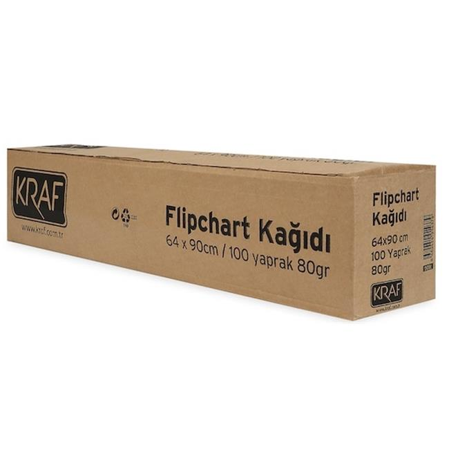 KRAF FLIPCHART KAĞIDI RULO 100YP 702G