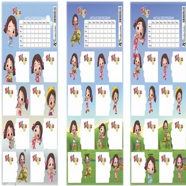 Keskin Color KESKİN ETİKET DERS PROG.3LÜ NİLOYA 220130-89