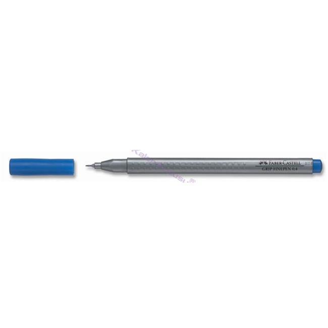 FABER-CASTELL GRIP FINEPEN 0.4mm Keçeli(Fiber) Kalem - Koyu Mavi %30 İndirimli Fiyatlarla