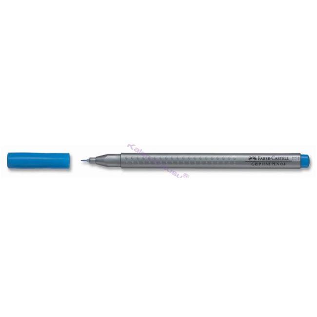 FABER-CASTELL GRIP FINEPEN 0.4mm Keçeli(Fiber) Kalem - Mavi %30 İndirimli Fiyatlarla