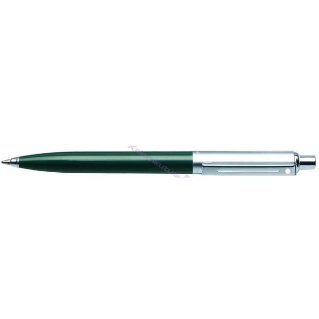 SHEAFFER Sentinel Parlak Koyu Yeşil/Krom-Çelik Tükenmez kalem  %30 İndirimli Fiyatlarla