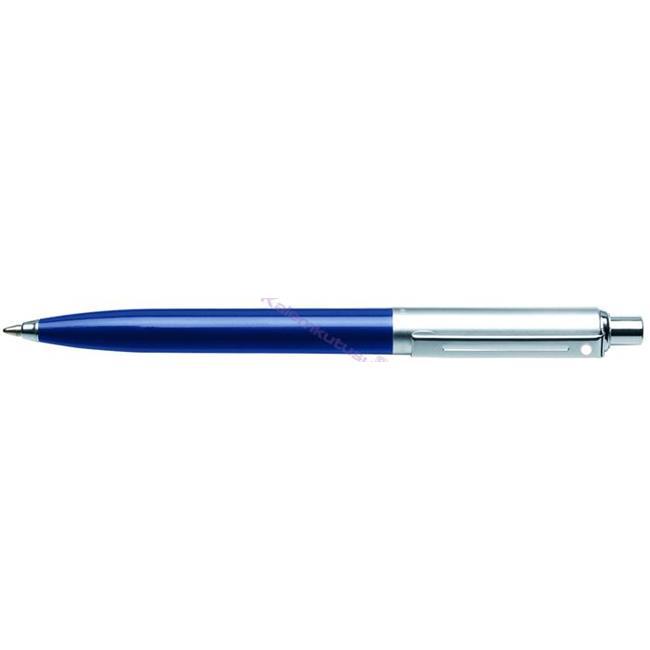 SHEAFFER Sentinel Parlak Koyu Mavi/Krom-Çelik Tükenmezkalem   %30 İndirimli Fiyatlarla