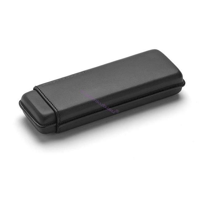 PORSCHE DESIGN 3190 İkili Deri Kalem Kılıfı - Siyah %30 İndirimli Fiyatlarla