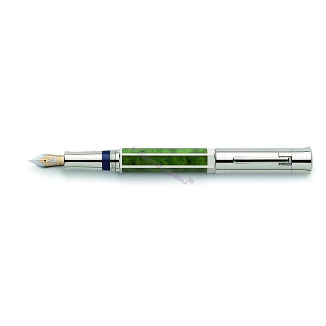 """Graf von Faber-Castell Pen of The Year """"2011"""" Jade-Yeşim Taşı Dolmakalem  %30 İndirimli Fiyatlarla"""