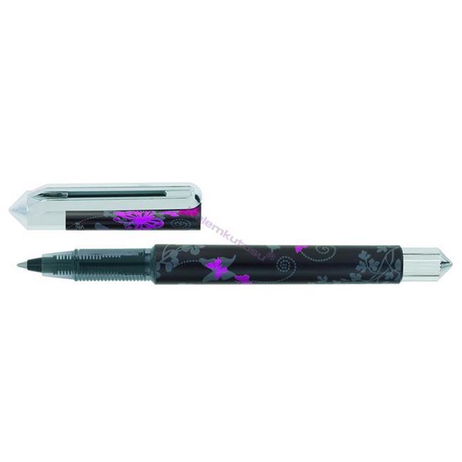 Online Tipa Pink Papillon Kartuşlu Sistem 0.5mm Roller kalem %30 İndirimli Fiyatlarla
