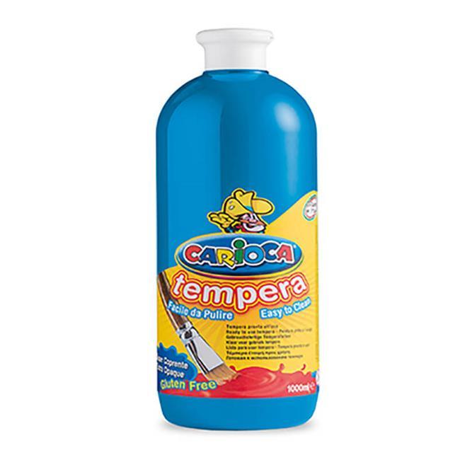 CARİOCA 18 TEMPERA BOYA 1000 ml MAVİ
