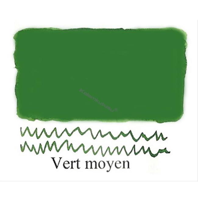 L'Artisan Pastellier Klasik Dolmakalem Mürekkebi / 30ml - Koyu yeşil