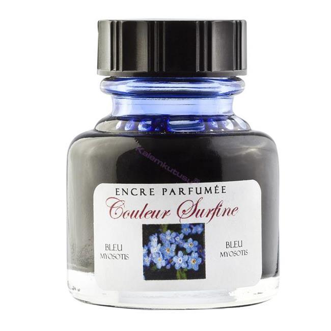 L'Artisan Pastellier Dolmakalem Mürekkebi 30ml - Unutma Beni Çiçeği Parfümlü / Koyu Mavi