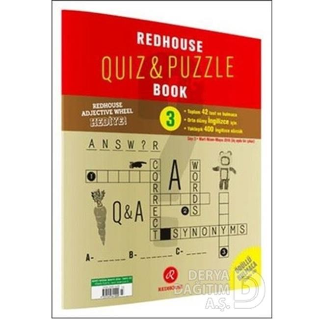 REDHOUSE / QUIZ PUZZLE BOOK  3