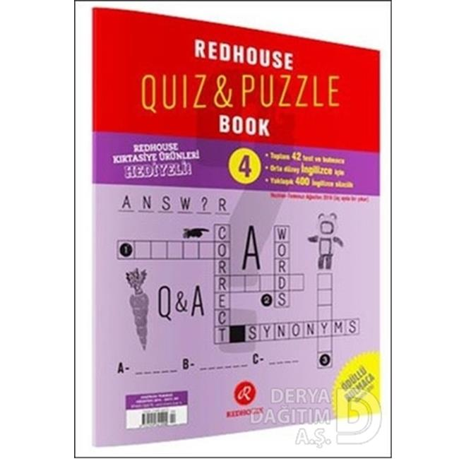 REDHOUSE / QUIZ PUZZLE BOOK  4