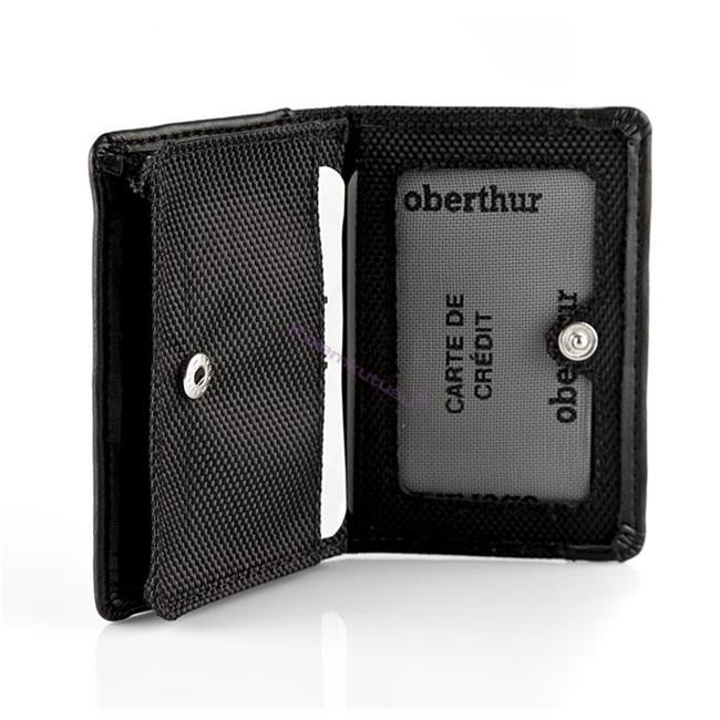 Oberthur Victoria Polyester/Deri Kartvizitlik Siyah 10x7cm<br><img src='resim/isyaz.gif' border='0'/>