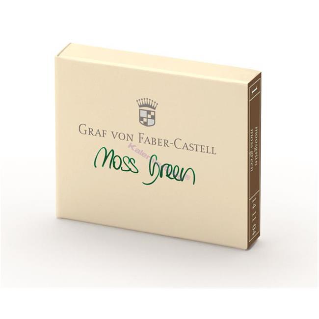Graf von Faber-Castell Dolmakalem Kartuşu 6'lı - Yosun Yeşili