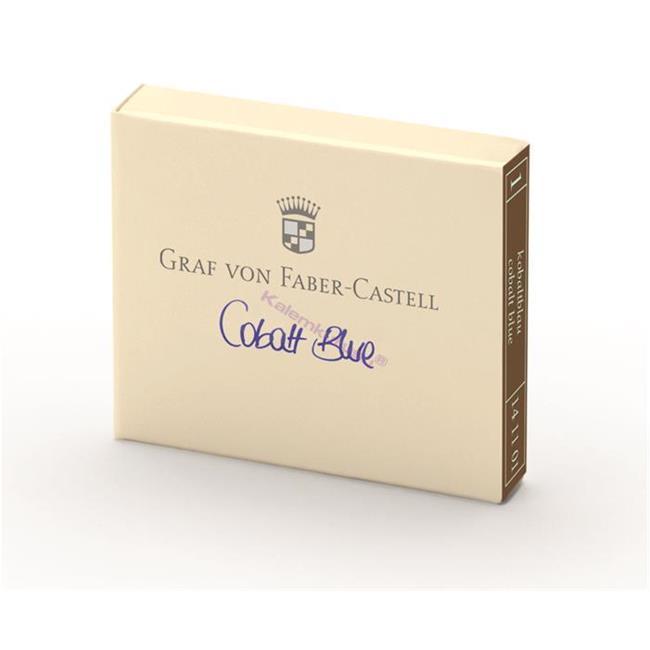 Graf von Faber-Castell Dolmakalem Kartuşu 6'lı - Kobalt Mavi