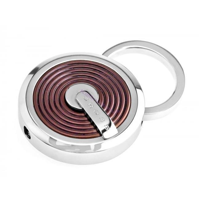 CROSS Tiverton PVD Kahverengi Kaplama/Çelik Anahtarlık %30 İndirimli Fiyatlarla