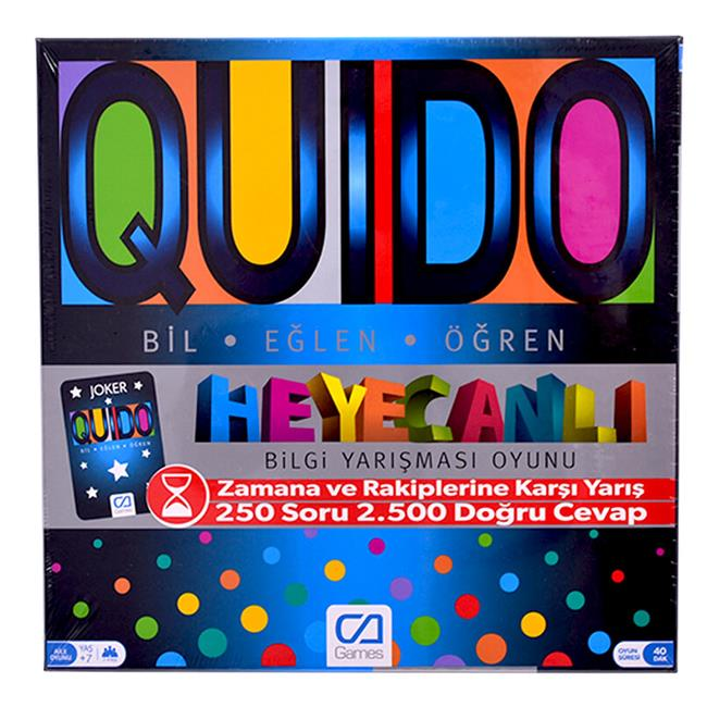 CA 5046 EĞİTİCİ QUIDO BOARD GAME