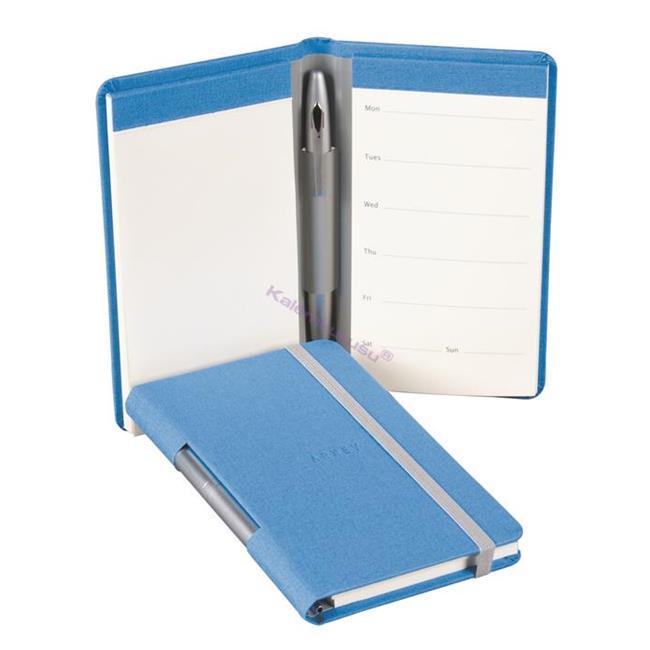 Arwey Ando Plain+Weekly Planner Notebook Kalem Hediyeli 9x14.5cm - 6 Farklı Renk Seçeneği