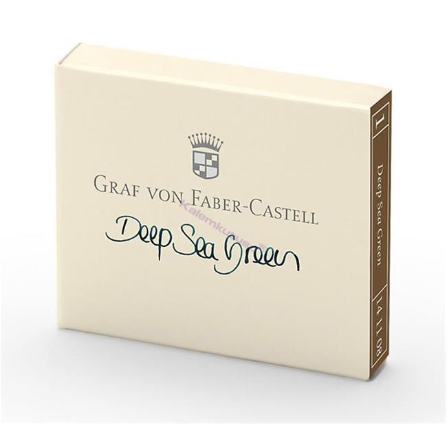 Graf von Faber-Castell Dolmakalem Kartuşu 6'lı - Derin Deniz Yeşil